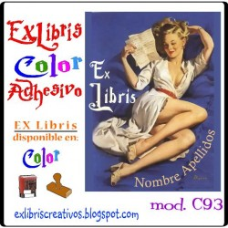 EXlibris Lectora Pin-up