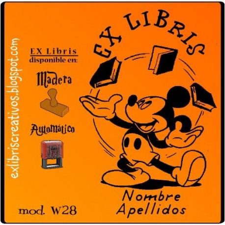 ExLibris Mickey Mouse